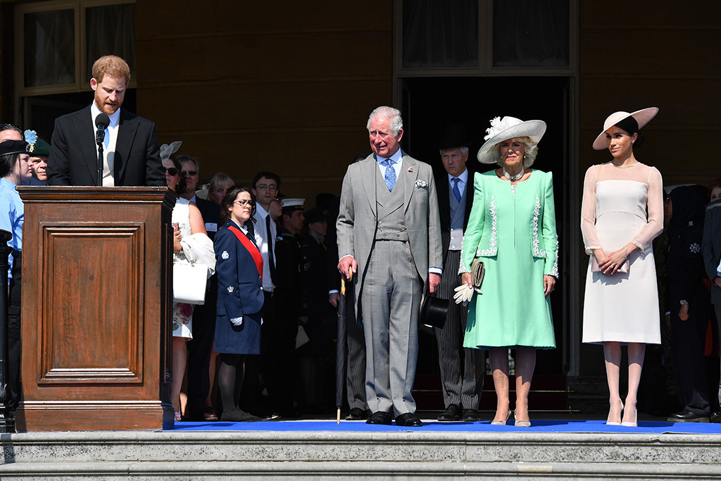 Prince Harry, Prince Philip, Camila duchess of Cornwall, Meghan Markle, Duchess of Sussex